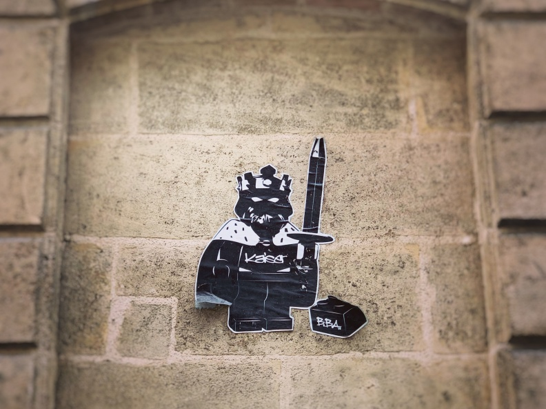 Lego street art à bordeaux